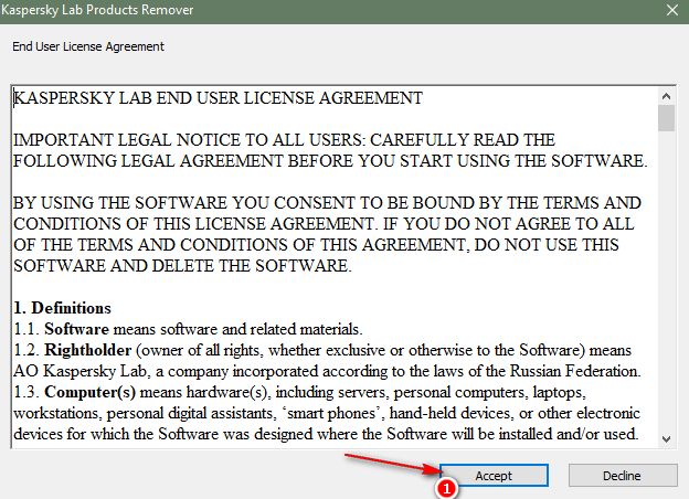 Gỡ bỏ hoàn toàn phần mềm Kaspersky anti-virus trên windows