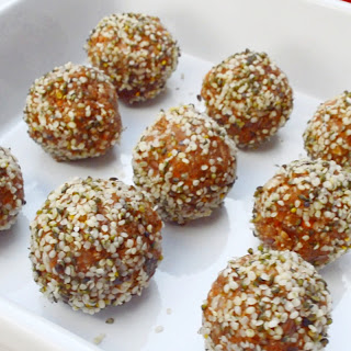 5-Minute Carrot Truffles.