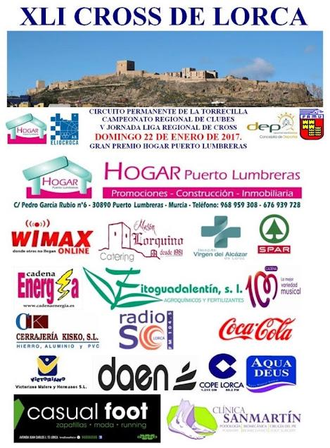 41ª edición del Cross de Lorca