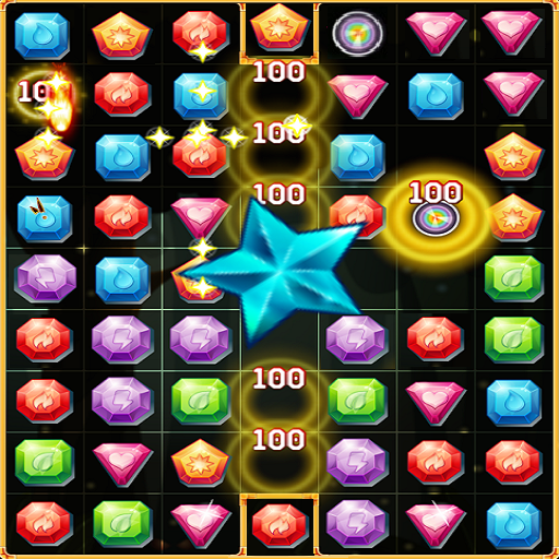 New Jewel Blast Match Game (free puzzle games) Icon