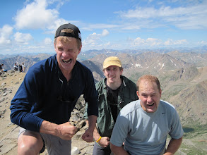 Photo: Argh - the summit of Mt. Massive Scott, Bob & Don