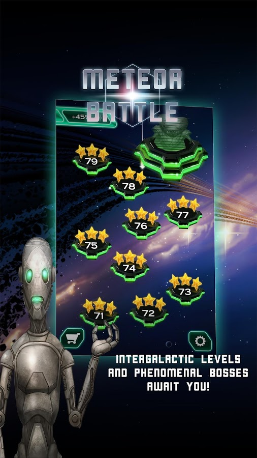 Meteor Battle- screenshot