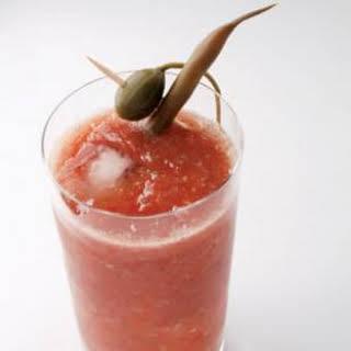 Tomato-Jalapeño Bloody Mary.