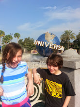 Photo: No Harry Potter today, we're at Universal Studios.