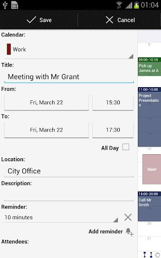 Business Calendar Beta screenshot 6