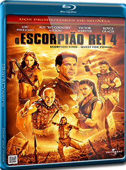 Filme Poster O Escorpião Rei 4 BDRip XviD Dual Audio & RMVB Dublado