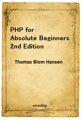 PHP for Absolute Beginners 2nd Edition - PDF Books