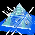 Light blue GO Keyboard