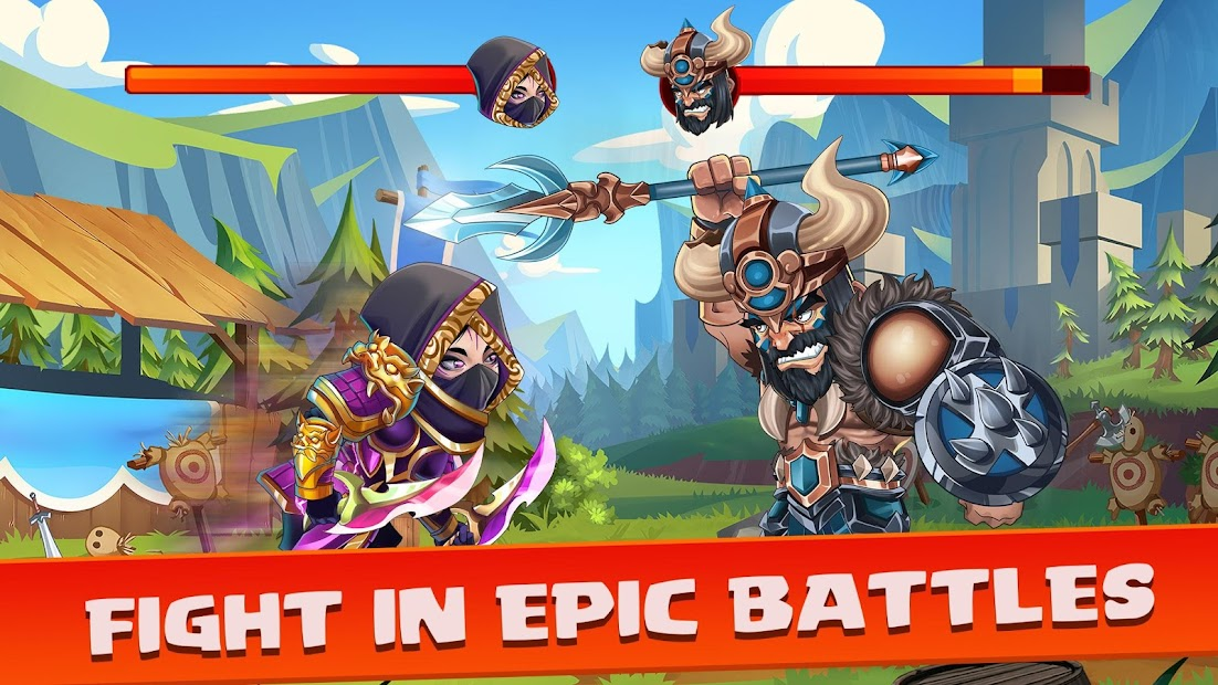Tiny Gladiators 2 - Fighting Tournament Android App Screenshot