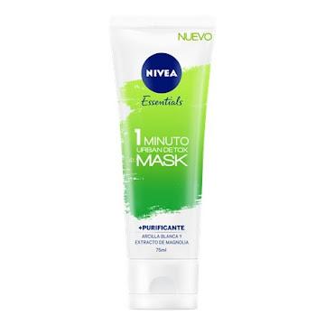 Mascarilla Facial Nivea Urban Mask Purificante x75ml