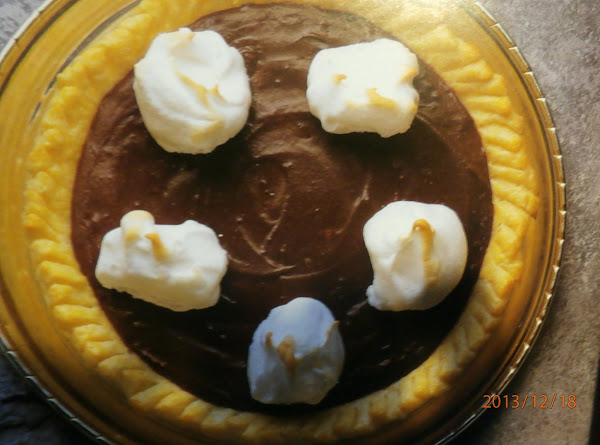 My Chocolate Pie Recipe