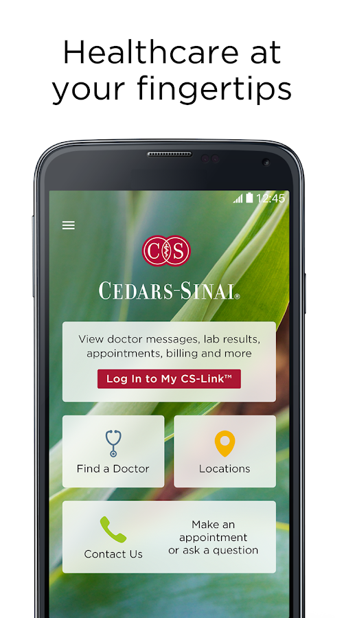 Cedars-Sinai- screenshot