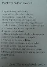 Photo: Udział uczniów Gimnazjum nr 1 w Płońsku w XII ogólnopolskiej pielgrzymce szkół im. Jana Pawła II [10.10.2013]