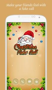 Christmas Fake Call v1.0.0