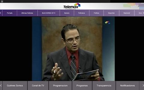 Telemax Sonora screenshot 6