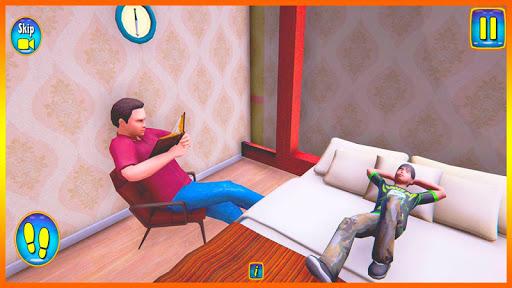 Happy Virtual Family Simulator - Family Dad Life screenshots 4