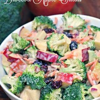 Creamy Broccoli Apple Salad