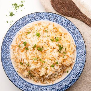 Authentic Lebanese Rice.