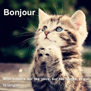SMS Bonjour Mon Amour - náhled