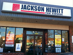 Photo: Jackson Hewitt in Lynn, MA proudly displaying their BBB Accreditation