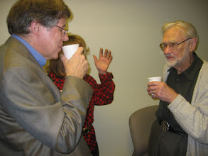 Photo: Professors Alllan Gibbard and Duncan Luce