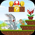 Super Bugs Smash Bunny Run icon