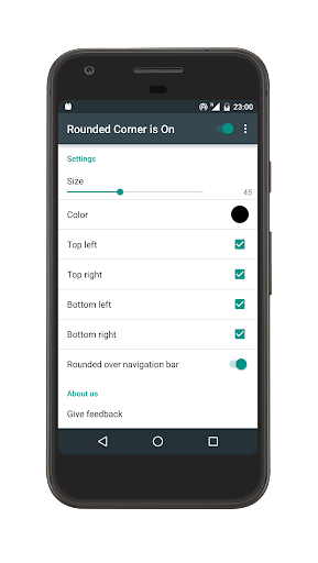 Rounded Corner app (apk) free download for Android/PC/Windows screenshot