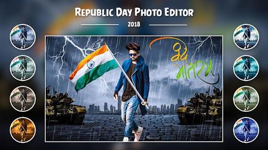 Republic Day Photo Editor :26th January 2018 Frame - náhled