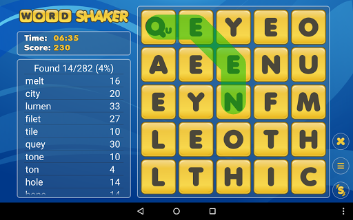 Word Shaker Free 3.0 screenshots 14
