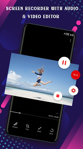 Screen Recorder with Audio & Video Editor screenshot 1