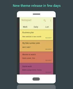 Good notes Simple Notepad-Notes for Android - náhled