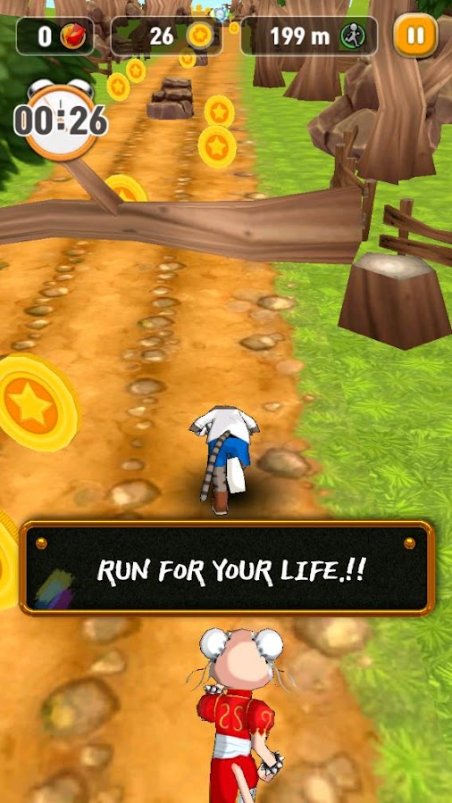 Billi Run- screenshot