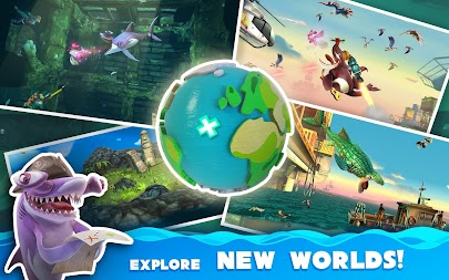 Hungry Shark World APK screenshot thumbnail 14