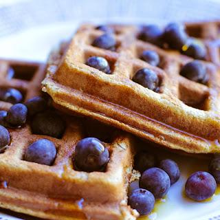 Paleo Banana Waffles from Cupcakes to Crossfit