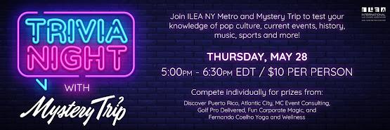 ILEA New York Metro's Trivia Night with Mystery Trip
