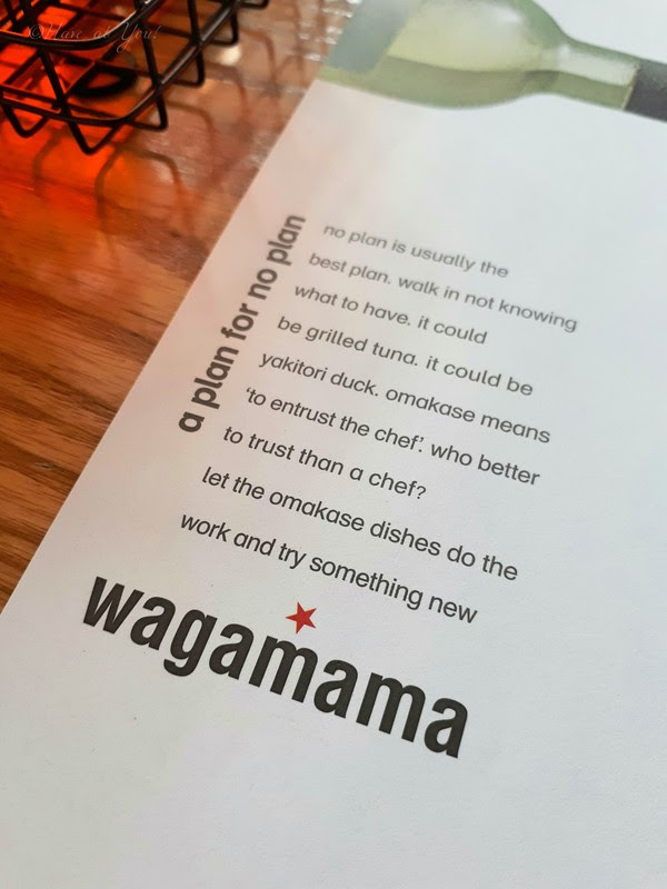 Wagamama paper placemates