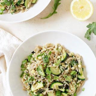 Herbed Zucchini and Corn Orzo Salad Recipe