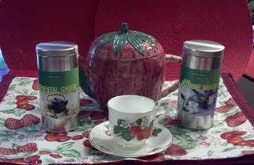 ENJOYING TEA