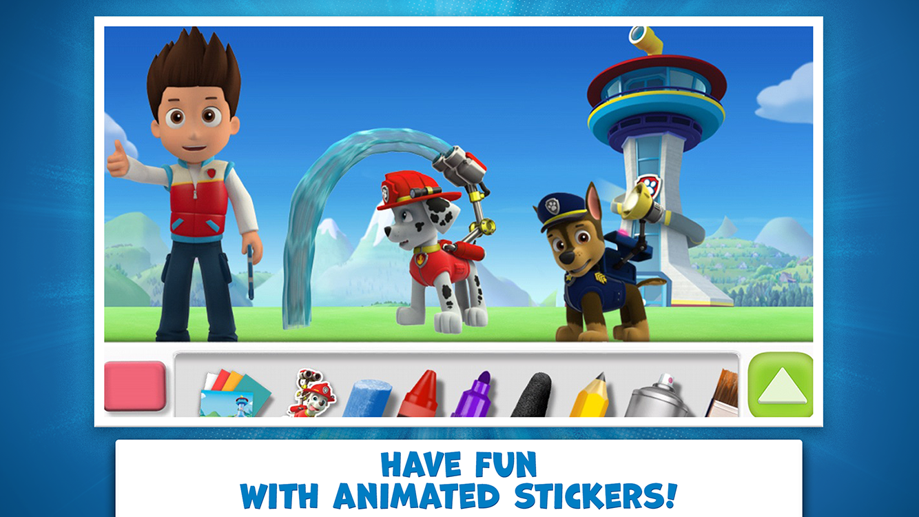 PAW Patrol Draw & Play- screenshot
