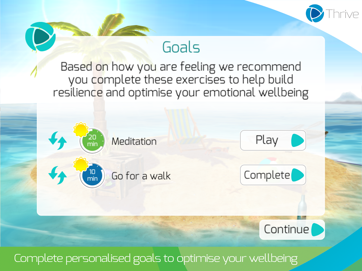 Thrive: Feel Stress Free- screenshot