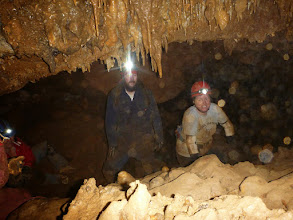 Photo: Caro, Jeff & Trish below the formations