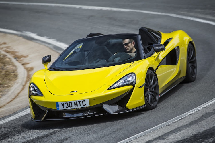 The McLaren 570S is almost unrivalled in the corners. Picture: MCLAREN AUTOMOTIVE