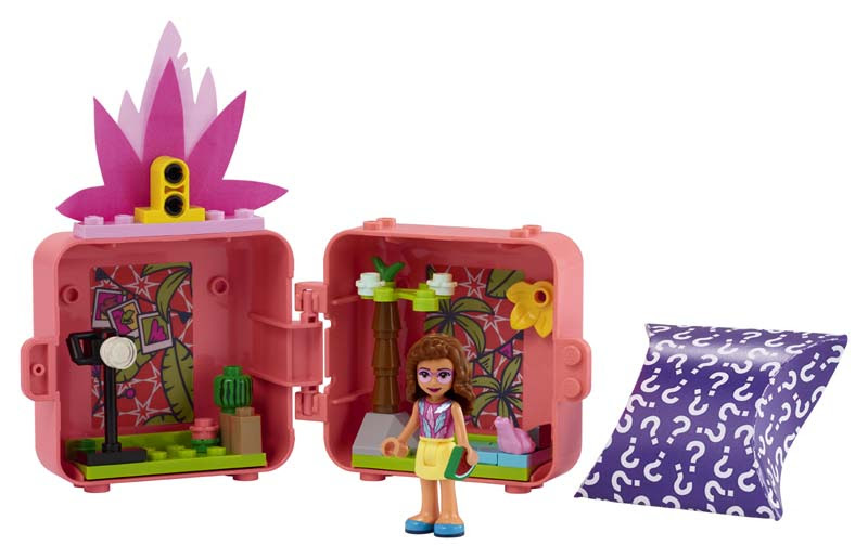 Contenido de Lego® 41462 Cubo-Flamenco de Olivia