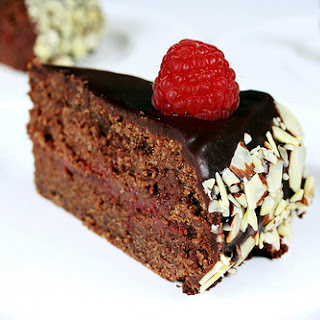 Chocolate-Raspberry Torte