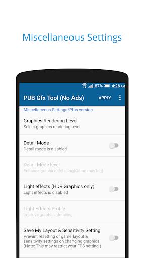 PUB Gfx Tool Freeud83dudd27(No Ads) NOBAN  screenshots 3