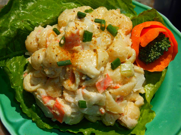 Crab/seafood Pasta Salad Recipe