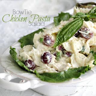 Bow Tie Chicken Pasta Salad.