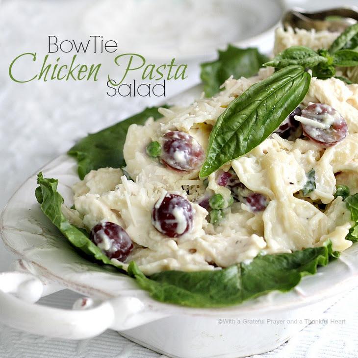 Bow Tie Chicken Pasta Salad