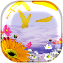 Flower Feather Live Wallapper icon