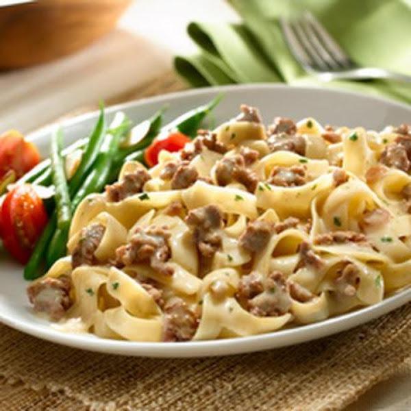 Ellen's Beef Stroganoff Sans Mushrooms Recipe